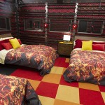 Fire room in Big Brother 16 house