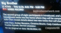 Big Brother 16 Groups of 8 Move-In