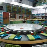 Big Brother 16 kitchen & memory wall