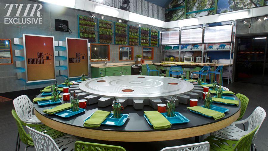 Big Brother 16 kitchen & memory wall