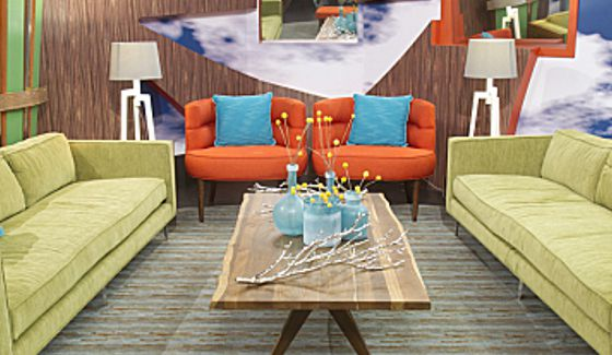 Big Brother 16 Nomination Chairs