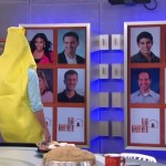 Big Brother 16 Media Day - Memory wall in action