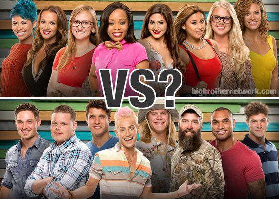 Big Brother 16 - Men Vs Women?