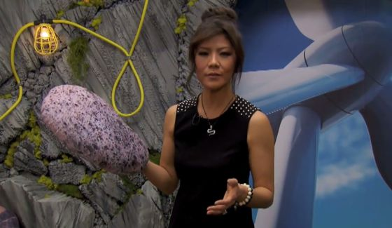 Julie Chen tours the Big Brother house