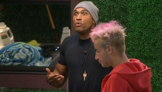 Devin and Caleb start to argue