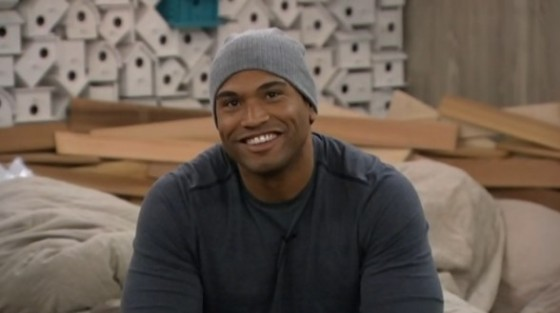 Devin Shepherd smiles on Big Brother 16