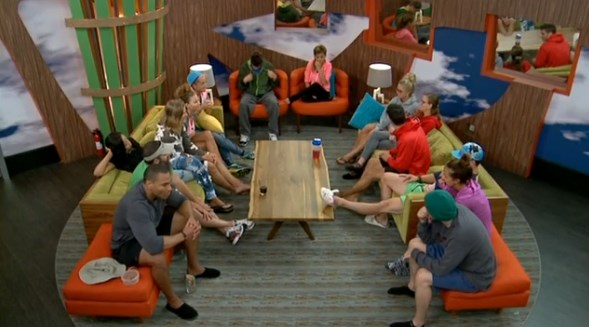 Big Brother 16 HGs prepare for an eviction