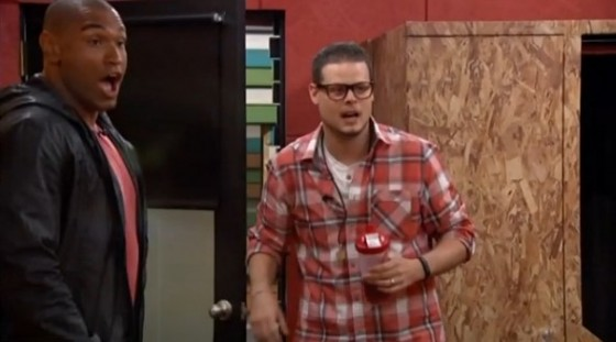 Devin Shepherd and Derrick Levasseur on Big Brother