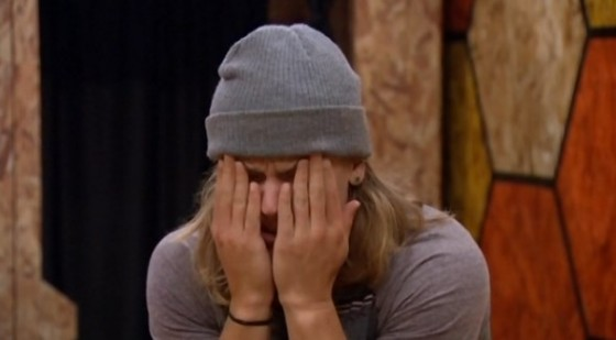 Hayden Voss stressing out