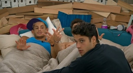 HGs counting the votes on Big Brother 16