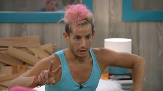 Frankie Grande counting votes on Big Brother 16