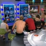 Big Brother 16 HGs gather around