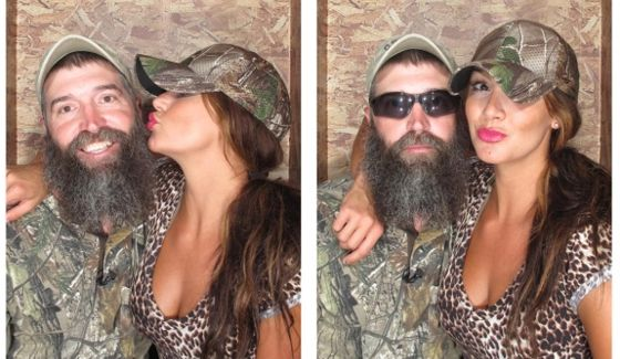 Donny Thompson and Brittany Martinez