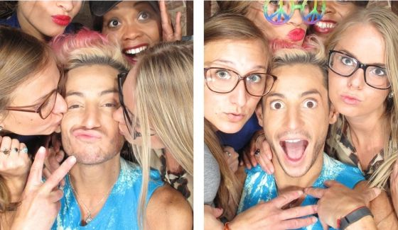 Big Brother HGs enter the Photo Booth