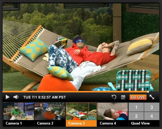 Big Brother Live Feeds viewer