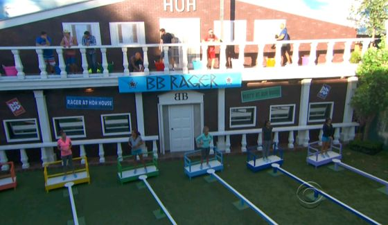 Big Brother 16 Week 2 HoH comp