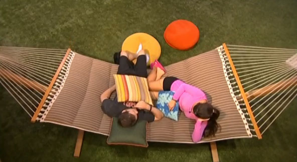 Derrick & Victoria on Big Brother 16