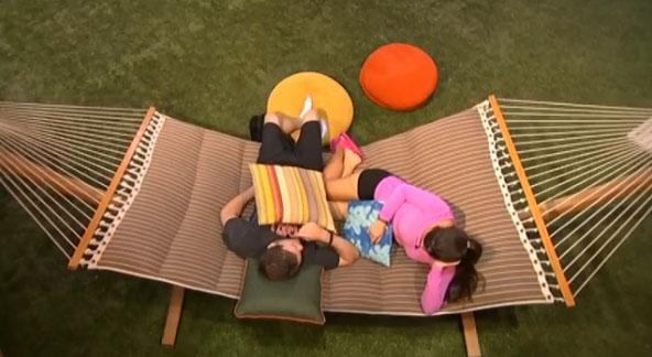 Derrick & Victoria on Big Brother 16