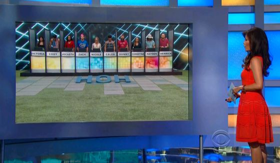 Big Brother 16 - Episode 17 HoH comp