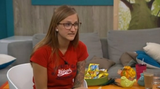 Christine Brecht on Big Brother 16