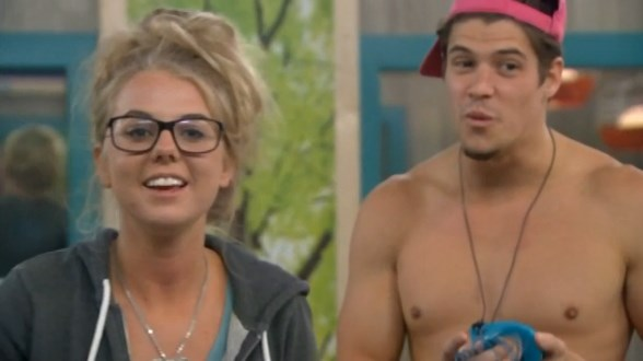 Nicole & Zach on Big Brother 16