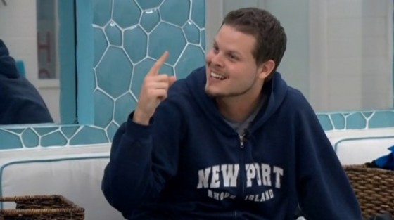 Derrick Levasseur on Big Brother