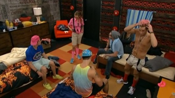 Frankie has the Power of Veto