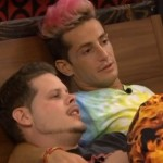 Derrick Levasseur and Frankie Grande on Big Brother
