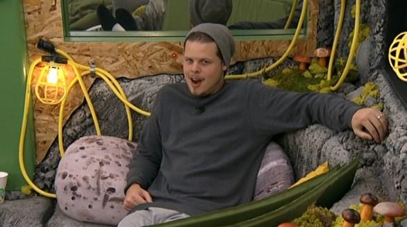 Derrick Levasseur on Big Brother