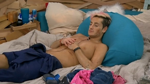 Frankie Grande could be in trouble on Big Brother