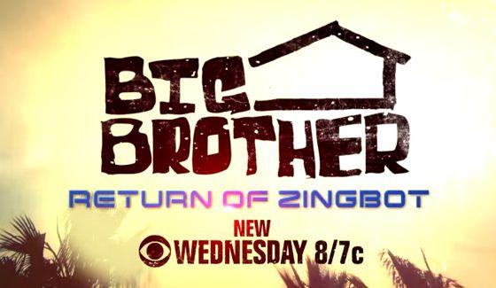 Big Brother 16 - Return of Zingbot - Source: CBS