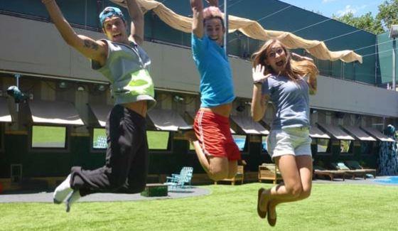 Cody, Frankie, & Christine jump for joy on Big Brother 16