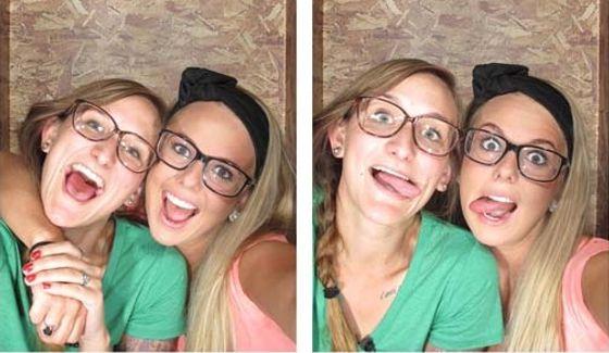 Nicole & Christine as Nicotine on Big Brother 16