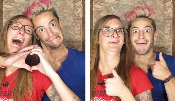 Christine & Frankie on Big Brother 16