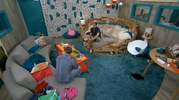 Frankie and Caleb talk on Big Brother 16