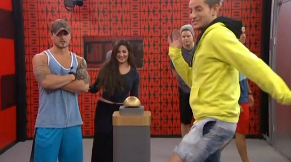 Houseguests watch the clock countdown