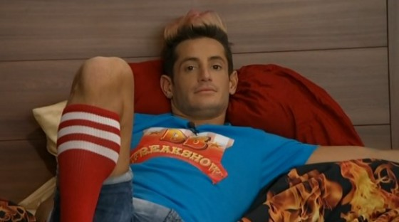 Frankie Grande is worried about his game