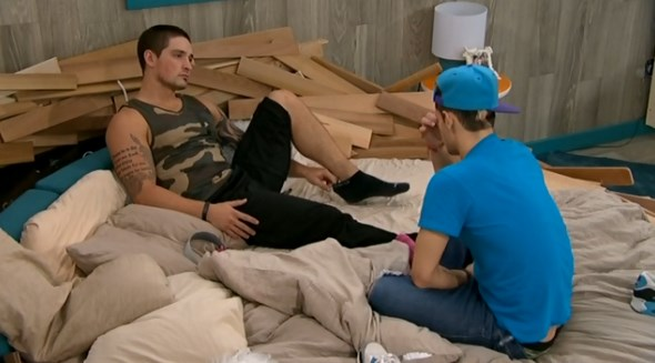 Caleb and Frankie discuss game moves