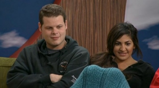 Derrick and Victoria on Big Brother 16
