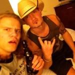 Hayden Voss and Caleb Reynolds