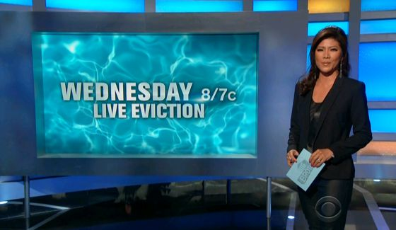 Julie Chen hosts Big Brother Special Eviction - Source: CBS