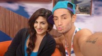 Victoria Rafaeli and Frankie Grande on Big Brother