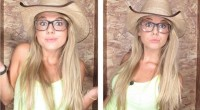 Nicole Franzel in the Big Brother Photo Booth