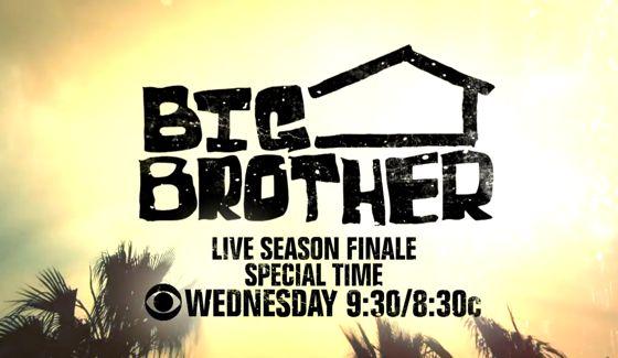 Big Brother 16 Season Finale tonight on CBS