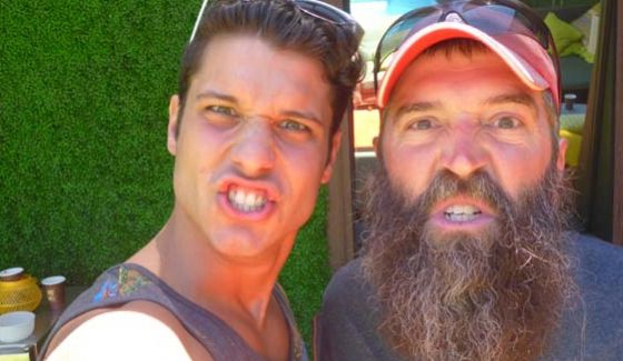 Cody Calafiore and Donny Thompson from Big Brother 16