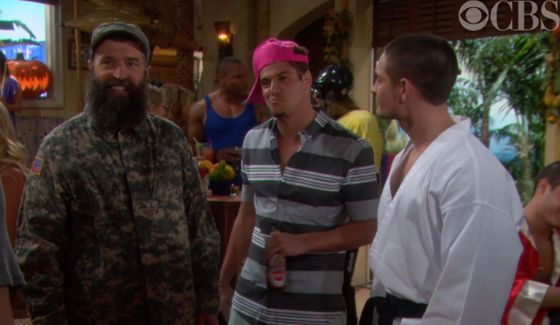"Big Brother 16 HGs on CBS's ""Bold & Beautiful"""