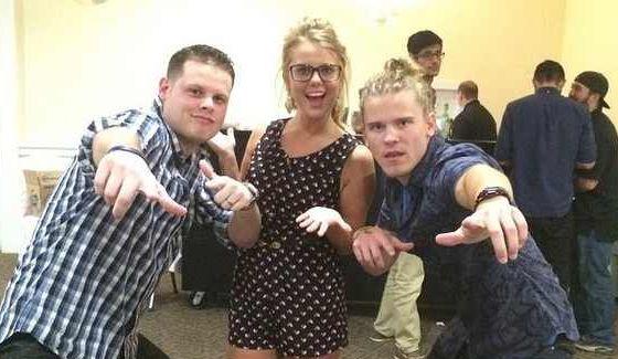 Derrick, Nicole, & Hayden together again