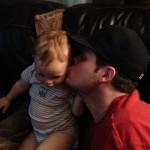 Derrick gives Tenley a kiss