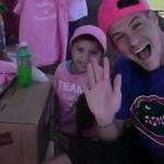 Zach Rance with Samantha
