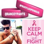Zach Rance Froot Loop Dingus pink bracelets